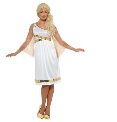 Adult Grecian Goddess Olympic Ancient  Greece Fancy Dress Costume • 8.98£