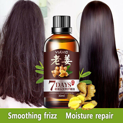 AU7.23 • Buy Regrow 7 Day Ginger Germinal Hair Growth Serum Hairdressing Oil Loss Treatment L