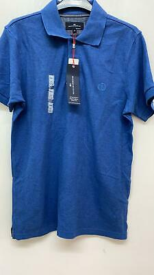 NEW RRP £19.50 Ex Marks And Spencer Blue Polo Shirt • 4.99£