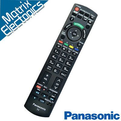 AU28.90 • Buy New N2QAYB000352 Replaced Remote Sub N2QAYB000496 For Panasonic TV