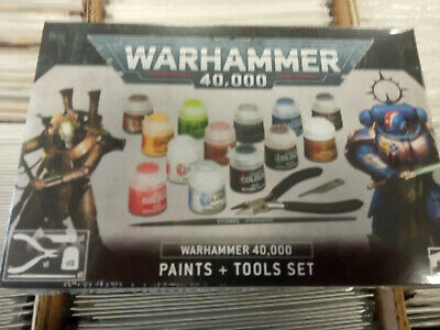 Warhammer 40k Paints And Tools Set - New • 22.95£