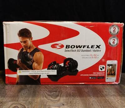 $ CDN474.99 • Buy Bowflex SelectTech 552 Adjustable Single Dumbbell *BRAND NEW * IN-HAND*