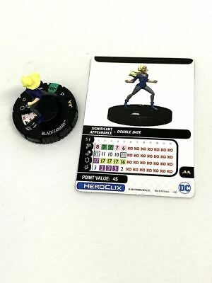 030 Justice League Unlimited - Black Canary Uncommon HeroClix • 2.52£