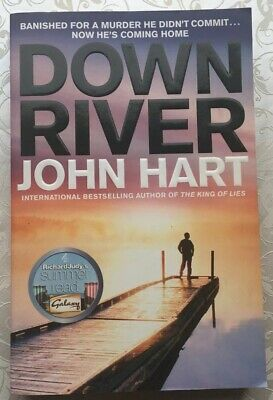 """Down River By John Hart (Paperback, 2008) """"ALMOST NEW"""" • 2.60£"""