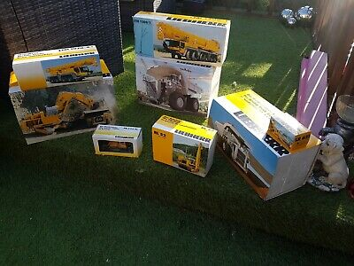 Liebherr Diecast Models X 8 As In Photos  Scale Mobile Models  • 750£