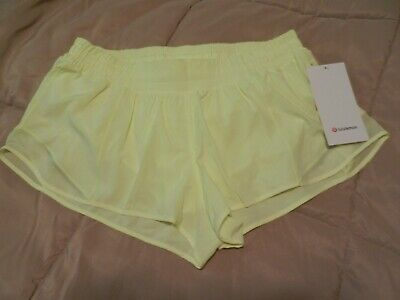 $ CDN87.86 • Buy Lululemon NEW With TAG HARD-TO-FIND HOTTY HOT LR SHORT 2.5  *LINED (FLFH)Size 12