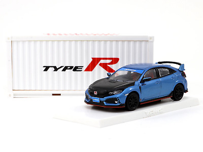 AU54 • Buy Tarmac Works - Honda Civic Type R FK8 Blue With Black Bonnet Tuned By SPOON