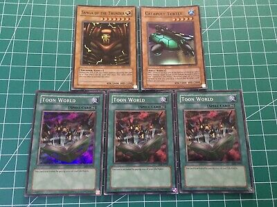 Yugioh Metal Raiders & Magic Ruler 5 Card Ultra Rare Bundle • 17.95£