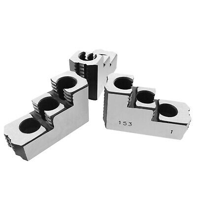 AU155.41 • Buy 6  Double Step Hard Steel Jaws For Kitagawa Samchully B-206 CNC Lathe Chuck