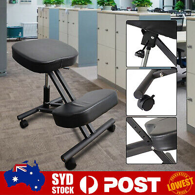 AU80.98 • Buy Kneeling Chair, Ergonomic Kneel Desk Chairs Typist Office Computer Home Physio H