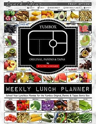 AU36.15 • Buy Weekly Lunch Planner School Year Lunchbox Planner For The Yumbox Original, Pani
