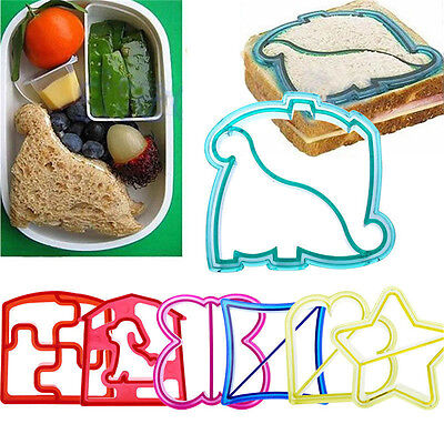 Dinosaur Butterfly Shape Sandwich Bread  Cutter Mold Cake Toast Mould Ma Bb Hf • 4.58£