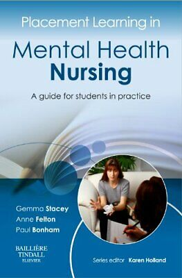 Placement Learning In Mental Health Nursing: A Guide For Stud New Paperback Book • 13.15£