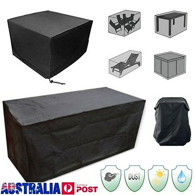 AU30.99 • Buy 10 Size Waterproof Outdoor Furniture Cover Garden Sofa Table Chair Protector AU