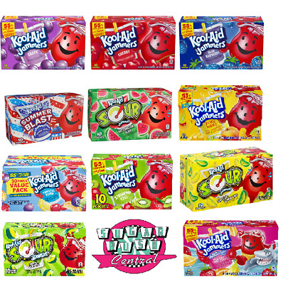 Kool Aid Jammers Variety Available 177ml 10 In Box - Us Import - Uk Seller  • 12.99£