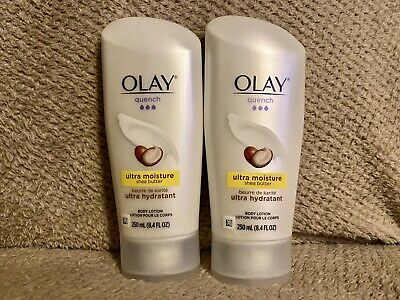 AU38.29 • Buy OLAY Quench Ultra Moisture Shea Butter Body Lotion 8.4 Oz, Lot Of 2
