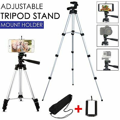 Tripod Camera Professional Stand Holder Bag For Smart Phone IPhone Samsung • 9.99£