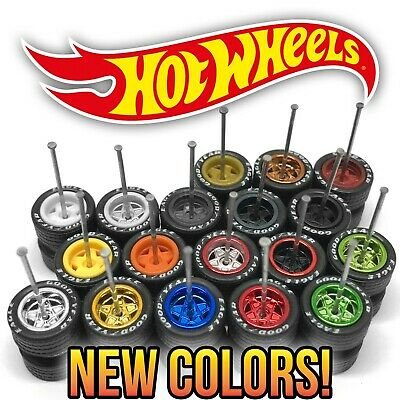 $ CDN8.74 • Buy Hot Wheels DEEP DISH STAR Real Riders Wheels And Tires Set For 1/64 Scale
