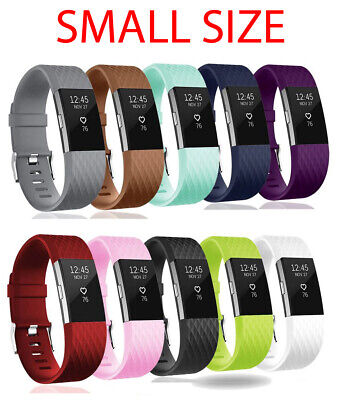 $ CDN5.32 • Buy For Fitbit Charge 2 Band Strap Buckle Watch Replacement Luxury Silicone SMALL