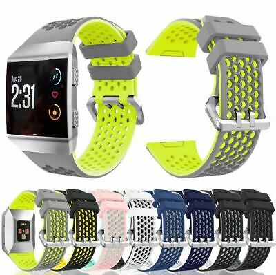 $ CDN10.69 • Buy For Fitbit Ionic Strap Silicone Sport Fitness Replacement Watch Wrist Band LARGE