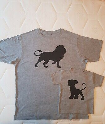 Father Son Matching T-shirts Boys Clothes Size 2XL And 1-2 Years • 9.50£