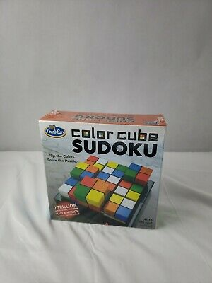 Color Cube Sudoku Puzzle Game Flip The Cubes Solve The Puzzle SEALED-  • 11.31£