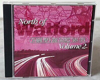 North Of Watford: Volume 2 - 24 RARE POP & SOUL CLASSICS 1964-1979 CD • 9.99£