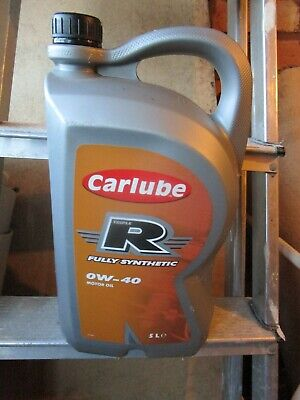 Carlube Triple R 0W-40 Fully Synthetic Petrol & Diesel Engine Motor Oil • 29£