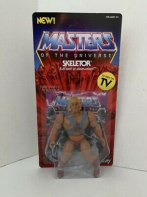$74.99 • Buy Error Skeletor Card Masters Of The Universe Super 7 Wave 1 He-man Figure Rare
