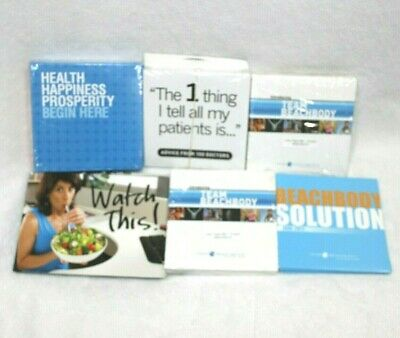 £31.10 • Buy Team Beahbody Coach Shakeology Promotional Materials 2011 Lot Of CDs