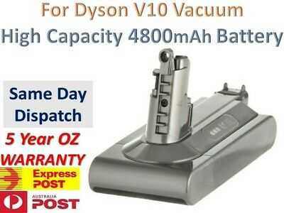 AU99.45 • Buy High Capacity Dyson Cyclone V10 Vacuum Cleaner Replacement Battery | 4800mAh