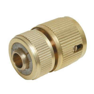 Universal Garden Watering Water Hose Pipe Tap Brass Connector Adaptor Fitting • 3.99£