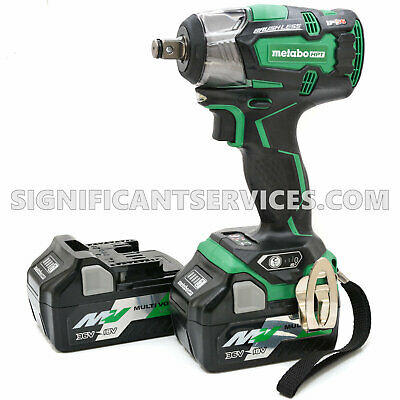 Metabo HPT WR18DBDL2 18V Li-Ion Brushless 1/2  Impact Wrench 5.0 Ah Battery Pack • 227.67£