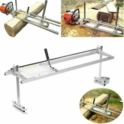£99.85 • Buy Portable Chainsaw Mill Log Planking Lumber Cutter 14 To 48In Chain Saw Guide Bar