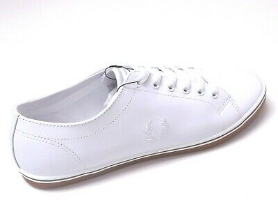 Fred Perry Kingston Leather Mens Shoes Trainers Uk Size 9.5 To 11   B6237U • 47.99£