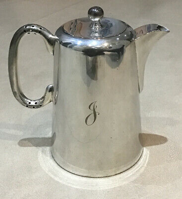 Silver Plate Coffee Pot EPNS Hard Soldered  2 Pint • 12.95£