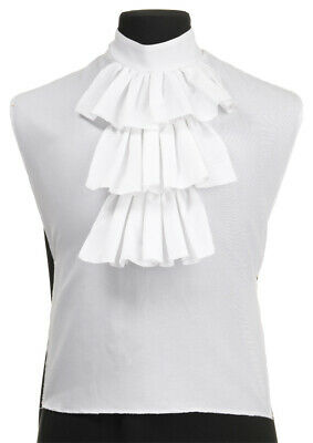 $12.42 • Buy Adult White Colonial Jabot Shirt Front History Costume Accessory Ur28550