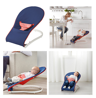 IKEA Baby Bouncer Balance Soft Durable Infant Chair Rocking Safe Swing Seat • 28.99£