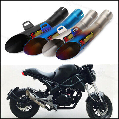 AU73.68 • Buy Durable Universal Motorcycle Exhaust Muffler Pipe With DB Killer Slip On 38-51mm