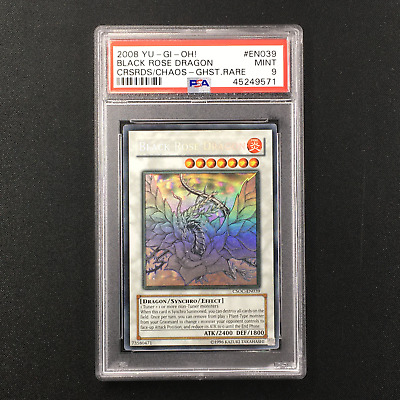 AU1799.99 • Buy PSA 9 MINT Black Rose Dragon - CSOC-EN039 - Ghost Rare Unlimited