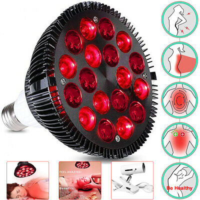 £18.69 • Buy LED Light Therapy Bulb 660nm Red & 850nm Near Infrared Combo 18W 54W Pain Relief