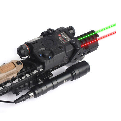 New PEQ-15 LA-5C AN PEQ UHP Appearance Green & Red Laser Flashlight Hunting • 44.99£