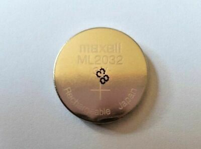 AU13.05 • Buy NEW ML2032 ML 2032 Rechargeable CR2032 CR 3V Coin Button Cell Battery Batteries
