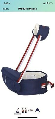 Gabesy Hipseat Baby Toddler Waist Hip Carrier • 11£