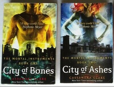 The Mortal Instrument Book Set: City Of Bones And City Of Ashes NEW (Paperback) • 7.50£