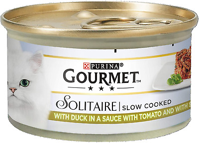 Gourmet Solitaire Duck And Vegetables, 85 G - Pack Of 12 • 12.13£