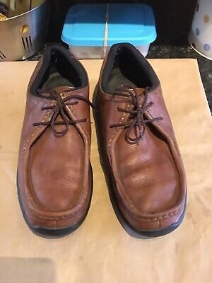 Mens Rockport Xcs Leather Shoes Size Uk 9.5 Brown • 16£