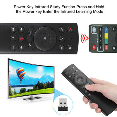 AU19.18 • Buy 2.4G Wireless Keyboard Voice Remote Control For TV Box HTPC Computer Projector