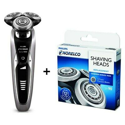 AU387.39 • Buy Philips Norelco S9311 Series 9000 Shaver Plus SH90 Replacement Head Kit