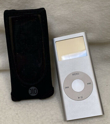 £14.33 • Buy Apple IPod Nano 2nd Generation Silver (2 GB) With Case